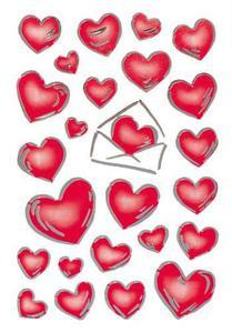 Naklejki HERMA Decor 3509 serce w kopercie x1
