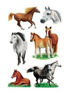 Naklejki HERMA Decor 3553 konie x1 - 2824963628