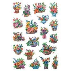 Naklejki HERMA Decor 3584 kosze kwiatów x1