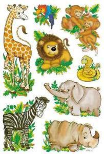 Naklejki HERMA Decor 3793 zwierzęta sawanna x1