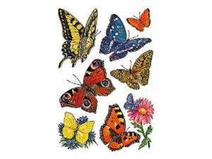 Naklejki HERMA Decor 3801 motyle i kwiat x1 - 2824963636