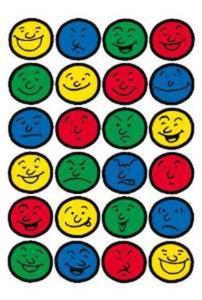 Naklejki HERMA Decor 5426 buźki kolorowe x1