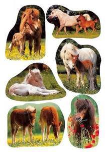 Naklejki HERMA Decor 5443 kucyk, kucyki x1