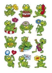 Naklejki HERMA Decor 5601 żabki uśmiechnięte x1