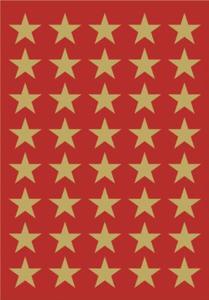 Naklejki HERMA Decor 3412 gwiazdki złote 22 x1