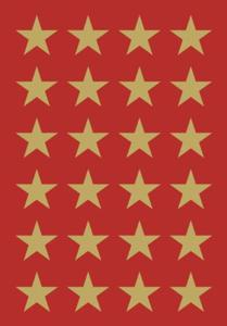 Naklejki HERMA Decor 3413 gwiazdki złote 23 x1