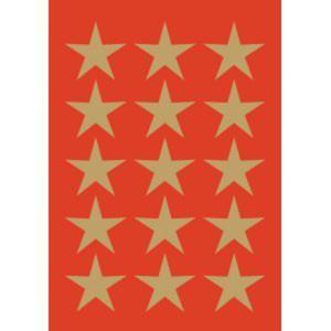 Naklejki HERMA Decor 3414 gwiazdki złote 24 x1