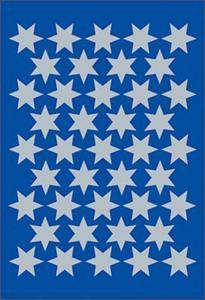 Naklejki HERMA Decor 3922 gwiazdy srebrne 14 mm x1