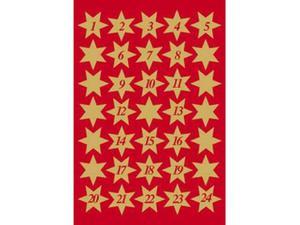 Naklejki HERMA Decor 3924 gwiazdki złote 1-24 x1