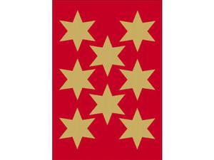 Naklejki HERMA Decor 3925 gwiazdki złote x1