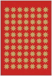 Naklejki HERMA Decor 3933 gwiazdki złote 10 mm x1