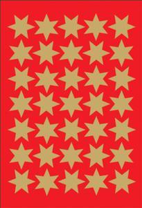 Naklejki HERMA Decor 3935 gwiazdki z - 2846498299
