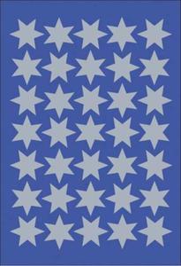 Naklejki HERMA Decor 4086 gwiazdki sreb 16 mm x1