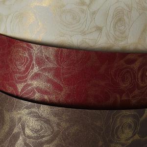 Karton ozdobny A4 250g Róże kremowy x20
