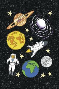 Naklejki HERMA Magic 3267 kosmos, planety x1