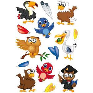 Naklejki HERMA Magic 3682 wesołe ptaki x1