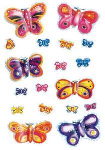 Naklejki HERMA Magic 6034 motyle motylki kolorowe
