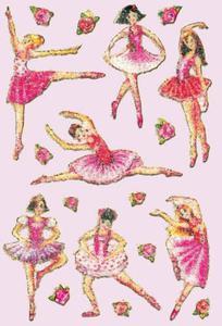 Naklejki HERMA Magic 6158 baletnica różowa x1