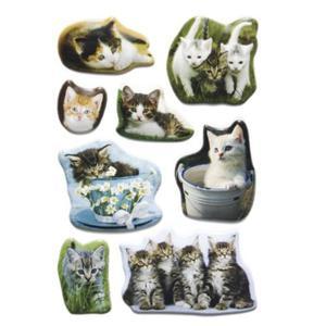 Naklejki HERMA Magic 6196 koty, kotki, kocięta x1