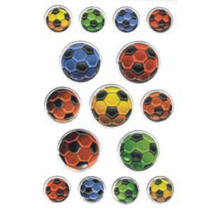 Naklejki HERMA Magic 6251 piłki futball kolorowe