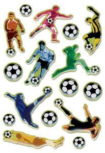 Naklejki HERMA Magic 6257 piłkarze, piłka nożna x1