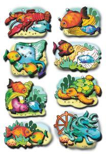 Naklejki HERMA Magic 6292 zwierzęta wodne, rybki