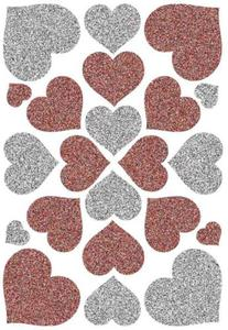 Naklejki HERMA Magic 6387 serca brokatowe x1 - 2824963825