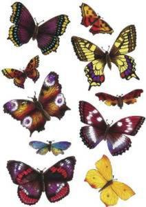 Naklejki HERMA Magic 6388 motyle, motylki ciemne