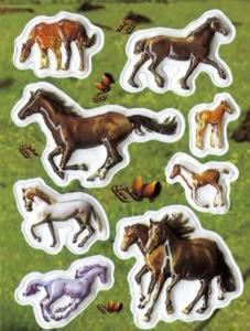 Naklejki HERMA Magic 6817 konie galopujące x1