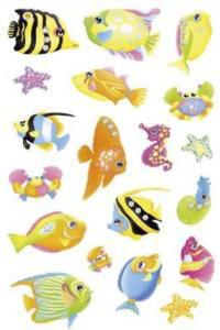 Naklejki HERMA Magic 6921 ryby pastelowe jasne x1