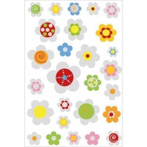 Naklejki HERMA Magic 6926 kwiaty wypukłe we wzory