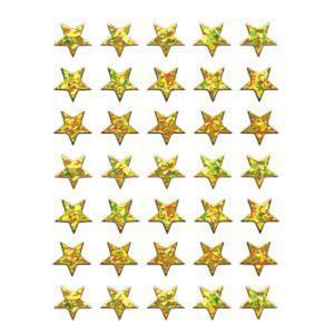 Naklejki HERMA Magic 3998 gwiazdki złote 3D x1