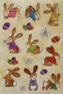 Naklejki HERMA Magic 6428 króliczki małe x1