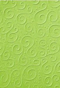 Karton A4 220g Heyda tłoczony Milano zielony x1