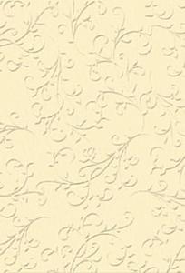 Karton A4 220g Heyda tłoczony Ornament kremowy x1