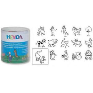 Stemple Heyda - zestaw Farma 15e x1