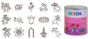 Stemple Heyda - zestaw Księżniczki 15e x1 - 2824963962
