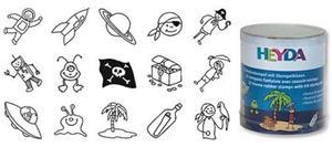 Stemple Heyda - zestaw Piraci/Astronauci 15e x1 - 2824963963