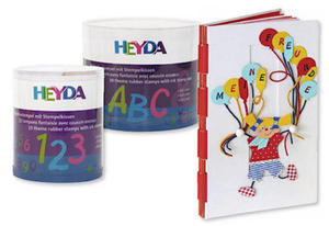 Stemple Heyda zestaw Literki x30