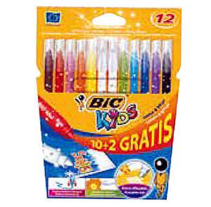 Pisaki BIC Kid Couleur & Erase 10 kol x1 - 2868114359