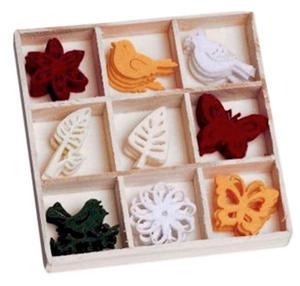 Elementy z filcu FilzBox Ornamente 215 x1 - 2824964165