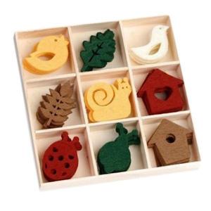 Elementy z filcu FilzBox Ornamente 232 x1 - 2824964171