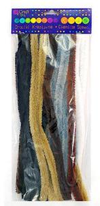 Druciki kreatywne 30cm animal prints x24
