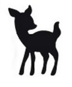 Dziurkacz ozdobny Heyda 1,5cm -04 jelonek Bambi x1