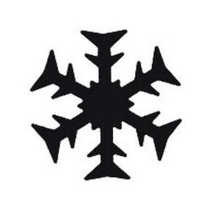 Dziurkacz ozdobny Heyda 1,5cm - 42 śnieżynka x1