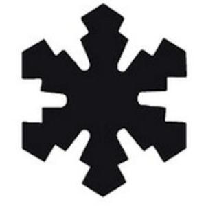 Dziurkacz ozdobny Heyda 1,5cm - 28 śnieżynka x1