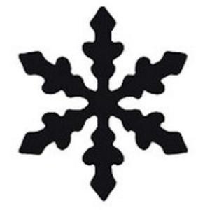 Dziurkacz ozdobny Heyda 1,5cm - 34 śnieżynka x1