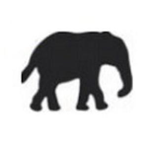 Dziurkacz ozdobny Heyda 1,5cm - 63 słoń x1