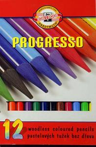 Kredki Koh-I-Noor Progresso 12 kol x1 - 2824959369