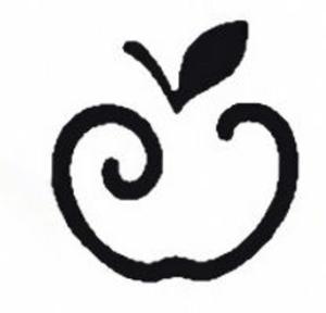 Dziurkacz ozdobny Heyda 2,5cm 01 jabłuszko x1